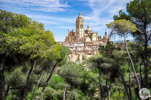 Segovia Cathedral, study II