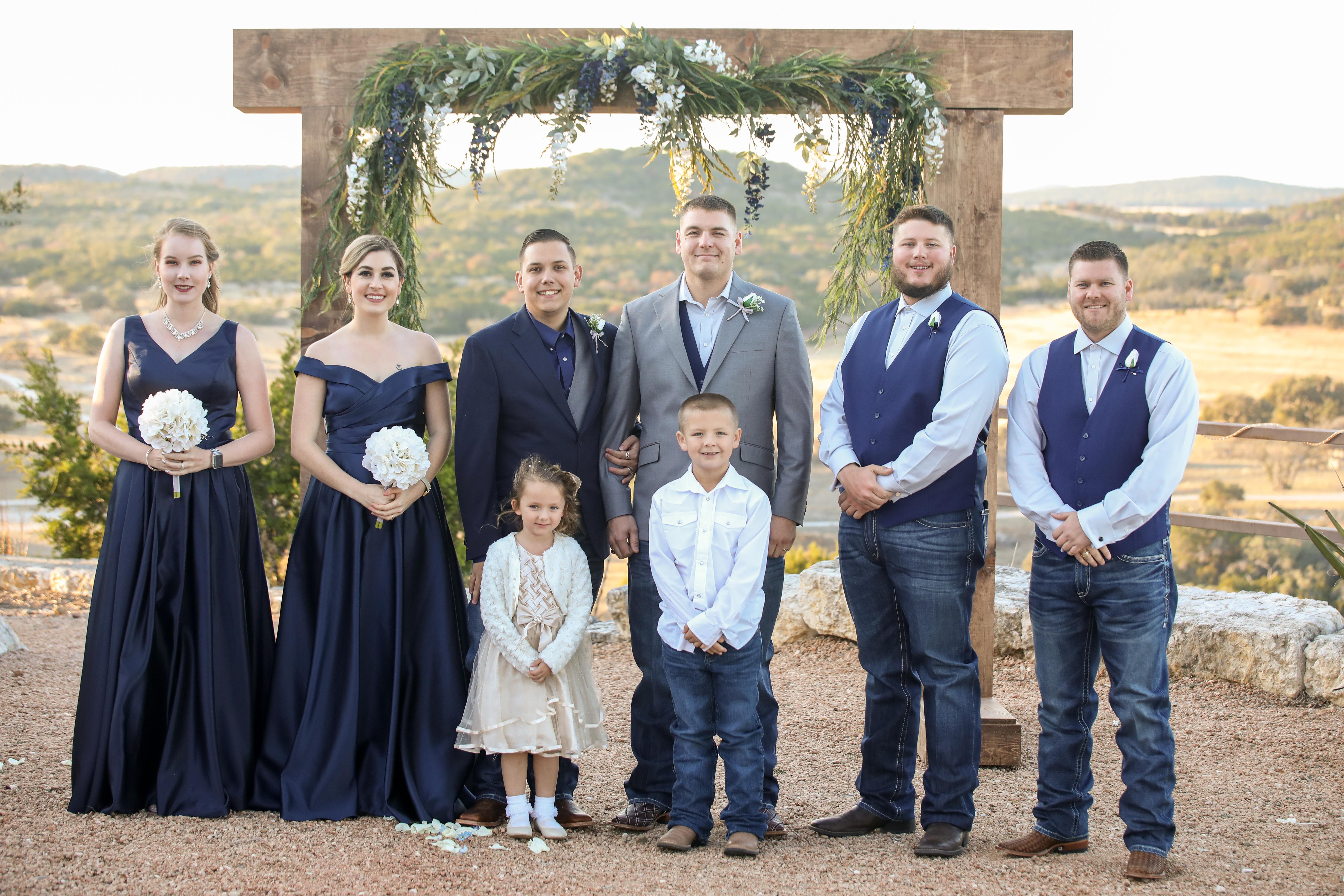 Wedding | Ring Mountain | Comfort, Tx