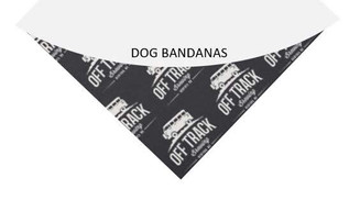 Dog Bandanas - Sold in Support of Elderdog Rescue