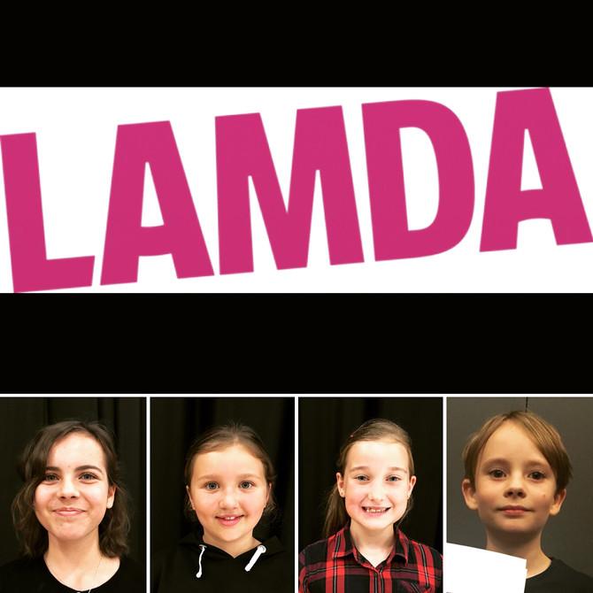 AMAZING LAMDA RESULTS!