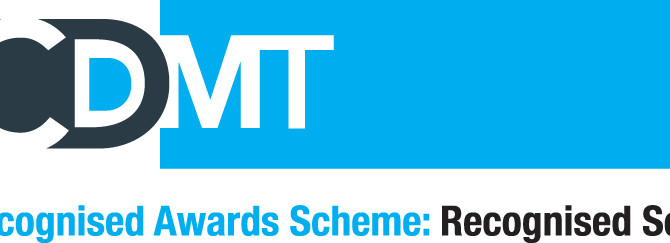 DDA IS NOW A CDMT RECOGNISED SCHOOL!