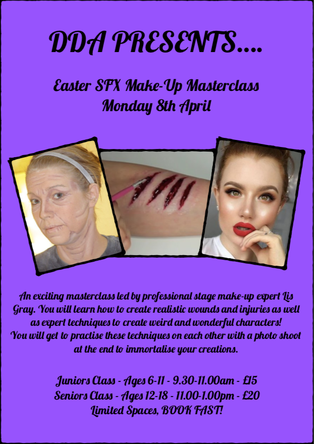 Easter Make-up Masterclass!