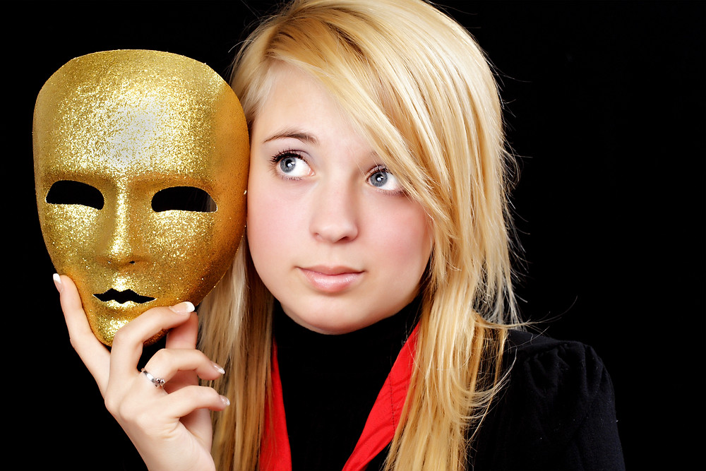 Blond Girl With Gold Mask.jpg
