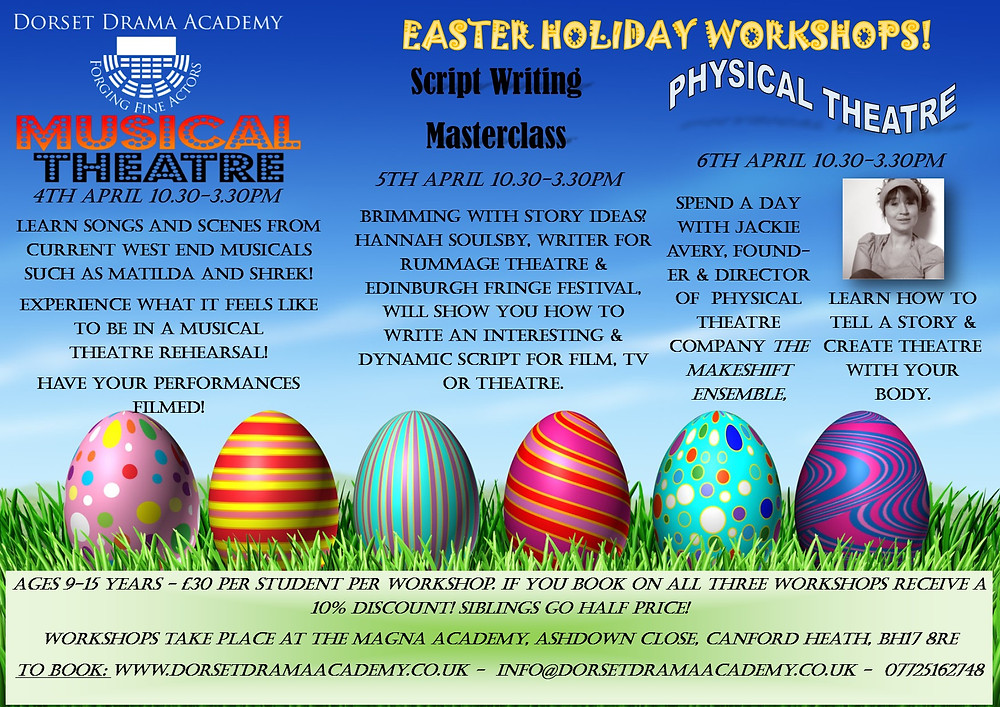 Easter Workshops 2016