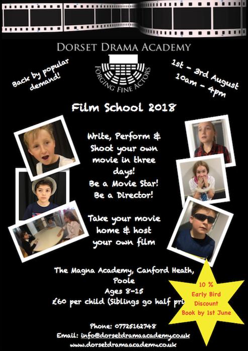 FILM SCHOOL 2018!