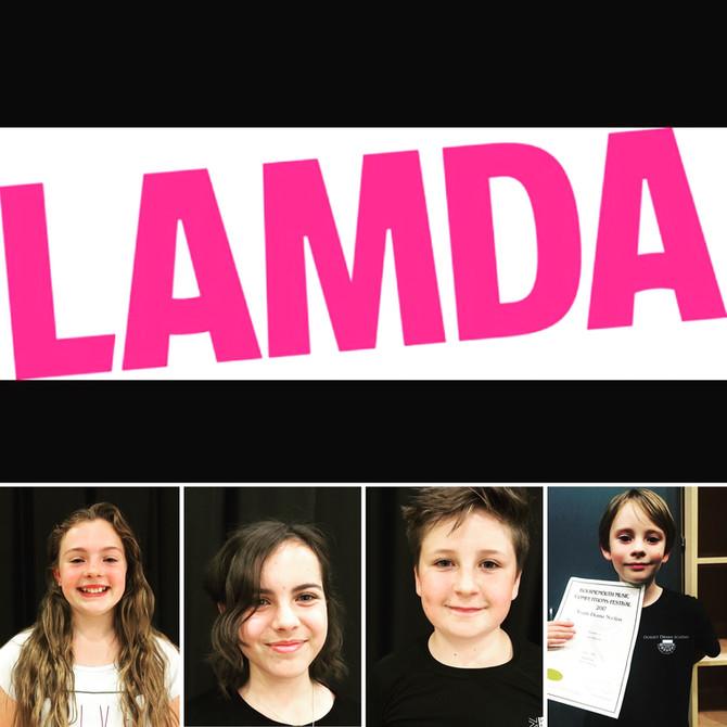 LAMDA Exam Results June 2017
