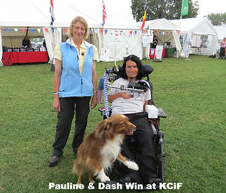 Kennel Club Agility Win For Pauline Angus & Dash