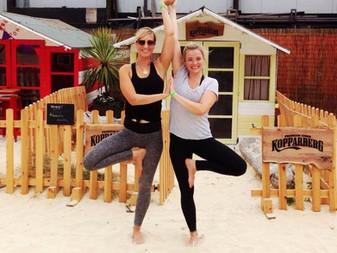 Beach Yoga @ Camden Beach