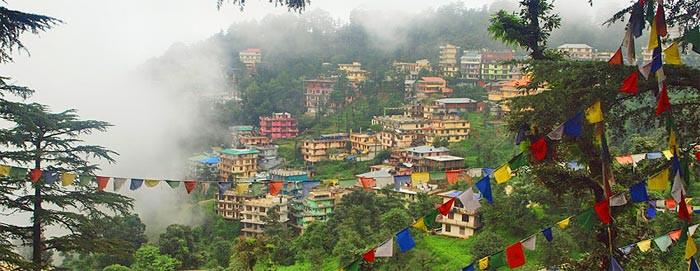 McLeod Ganj, Dharamsala, India, where my Yoga TTC will be taking place