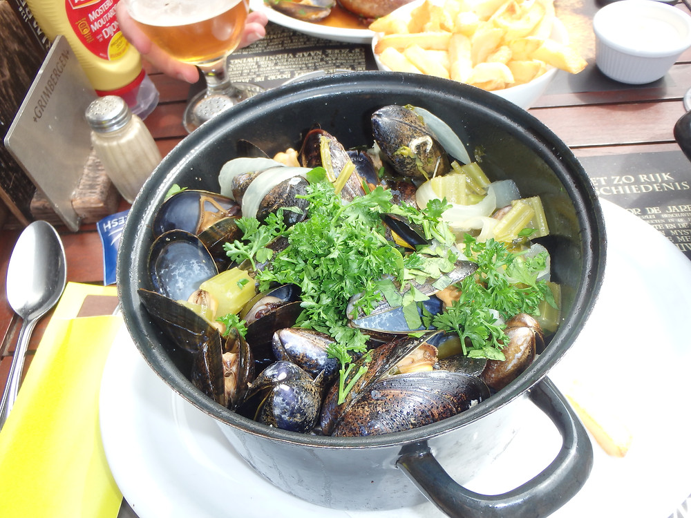 Moules and Frites!