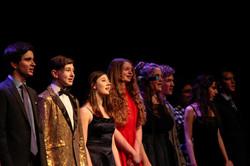 Teen vocal ensemble