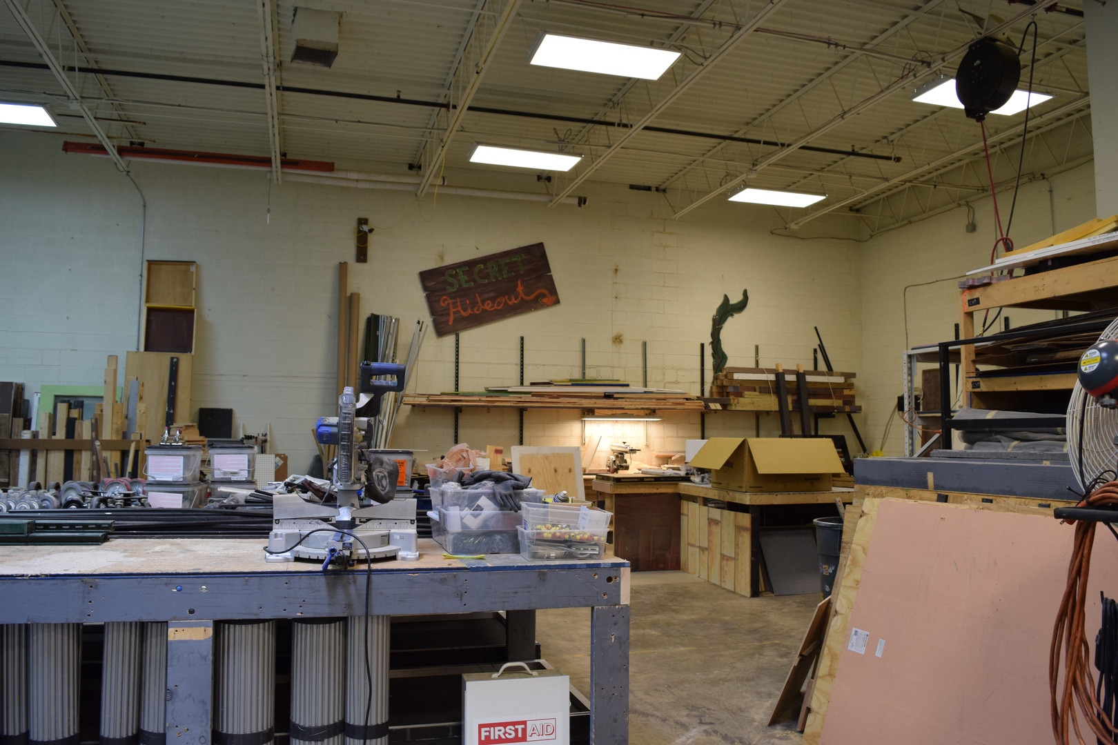 Expanded Shop Space