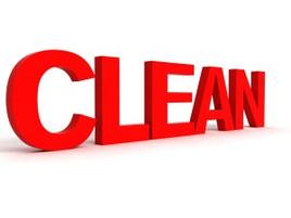 Start by Keeping it Clean