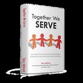 Together we serve stand up book image tr
