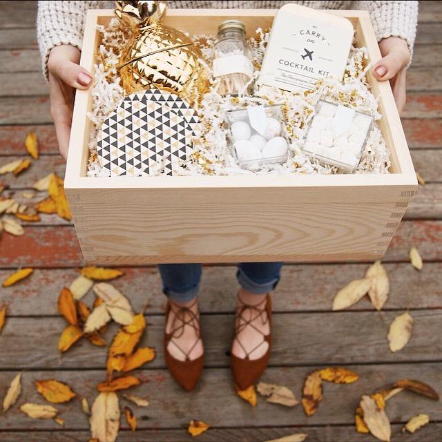 Custom gift box
