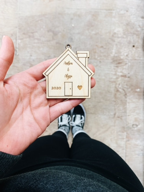 New Home keychain/ornament