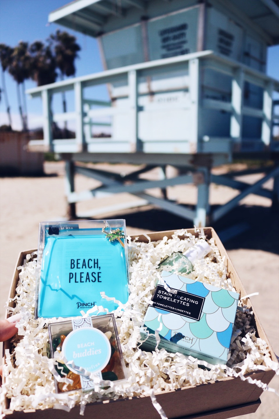 Custom gift box beach days