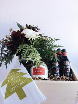 Hostess gift custom gift box