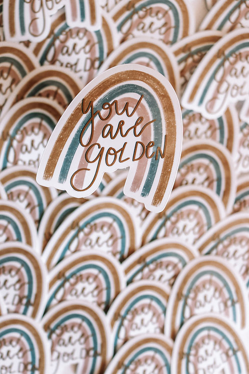You are golden sticker