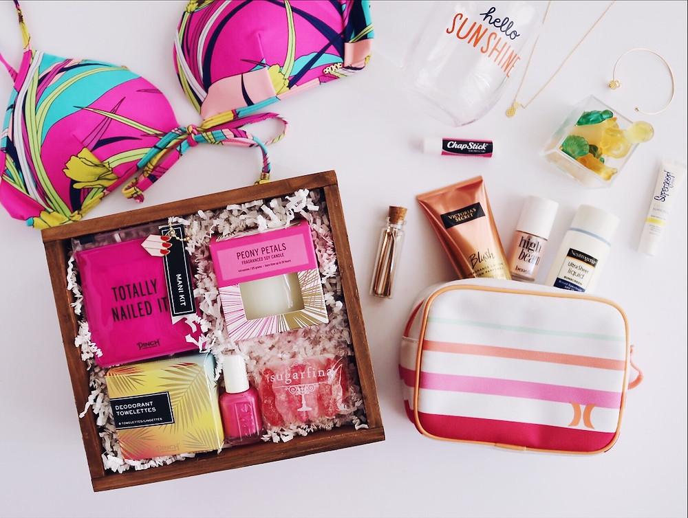 J. Isabel Designs summer vibes gift box