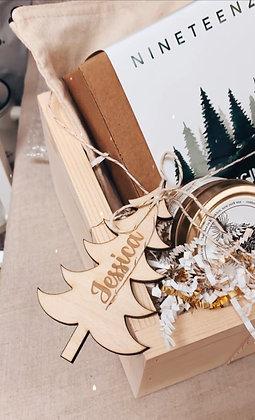 Custom wood ornaments/gift tags