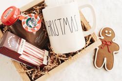Hot chocolate Christmas gift