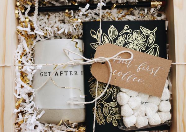 Custom client gift box