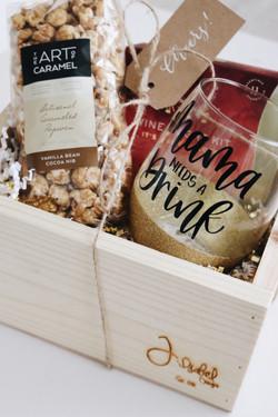 Wine night gift box