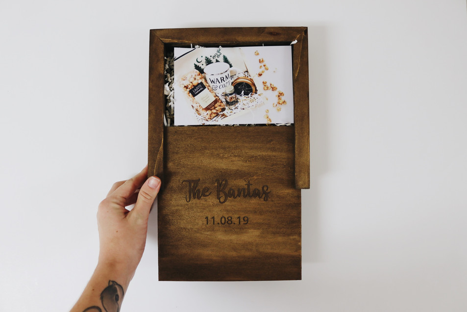 Custom photo box