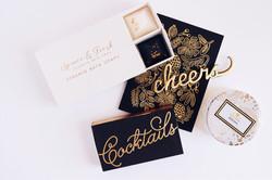 Custom gift box cheers