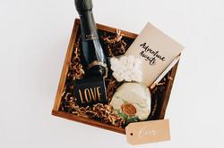 Custom gift box love
