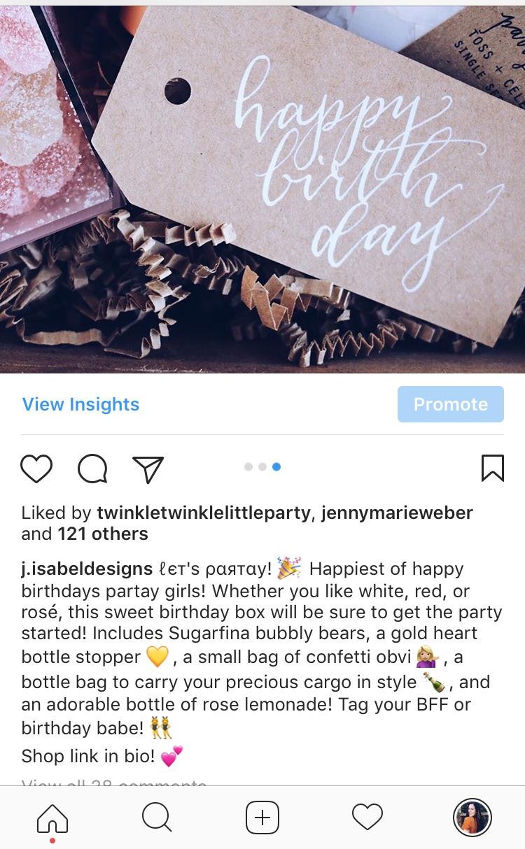 J. Isabel Designs Instagram