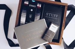 Custom gift box guys gift