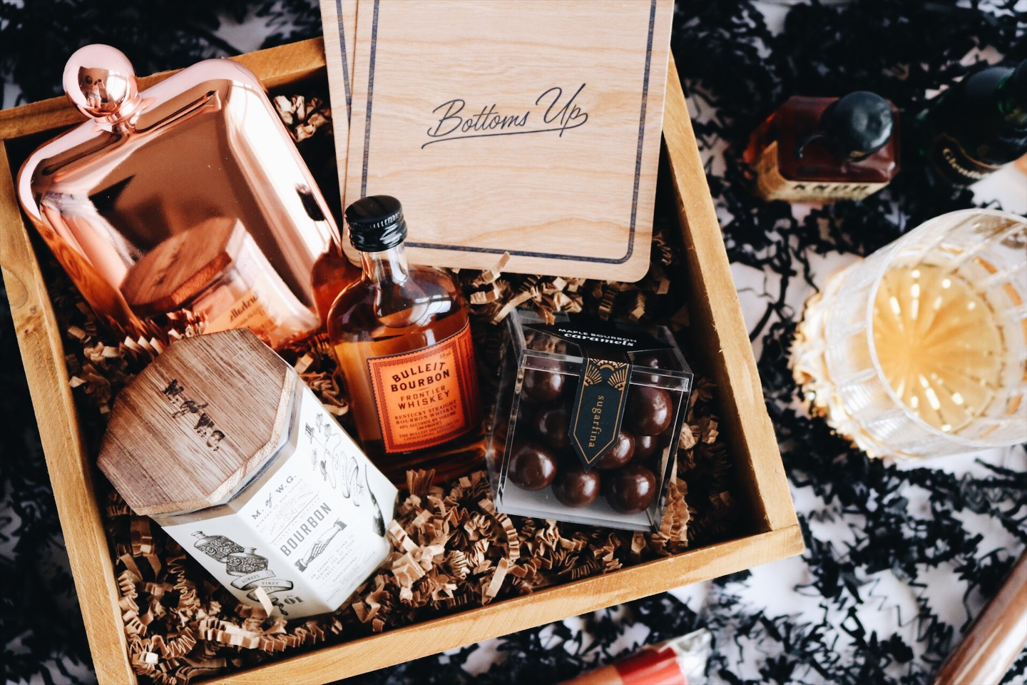 Custom gift box best man