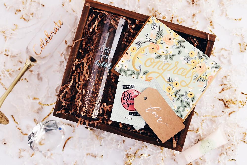 J. Isabel Designs engagement gift box