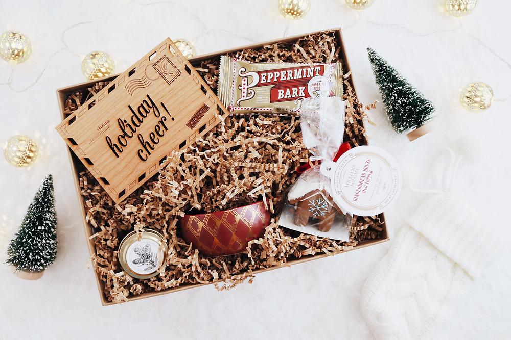 Cozy up Christmas gift box