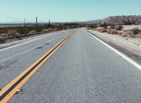 The road less traveled.