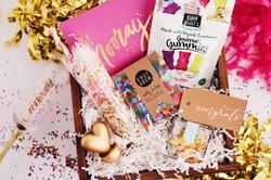 Custom gift box congrats