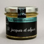 Saint Jacques et Algues