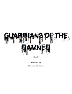 GUARDIANS OF THE DAMNED Title Page
