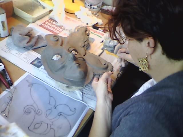 Cotruzione maschera veneziana