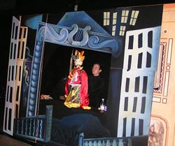Baracca Puppets parade con Mago