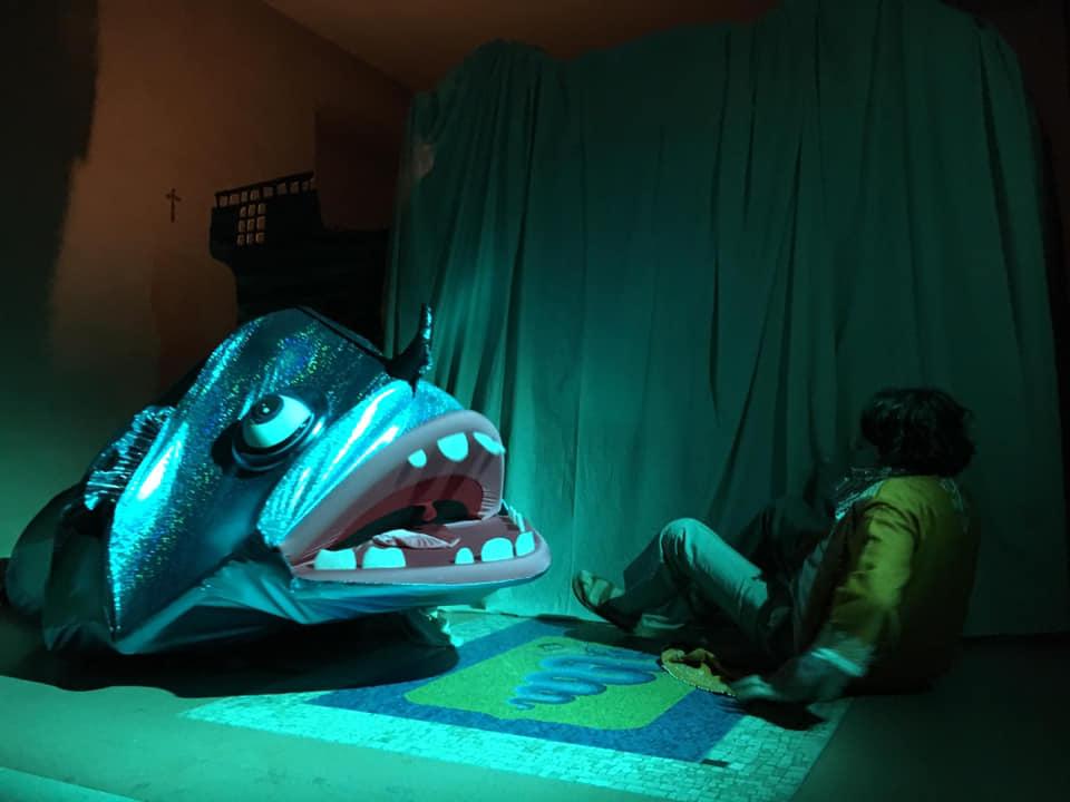Giona e la Balena Blu