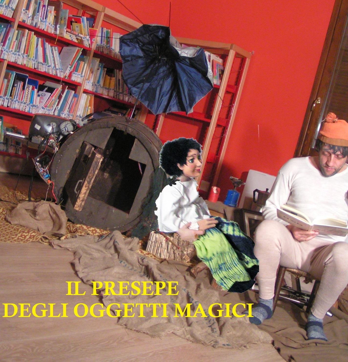 Il PRESEPE DEGLI OGGETTI MAGICI