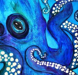 Cephalopod, 8x10