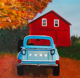 Ford Truck, 11x14