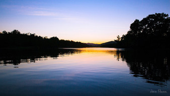 Daintree River at Sunset