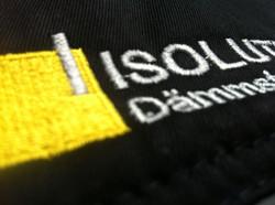 Detailaufnahme Isolution-Stickerei