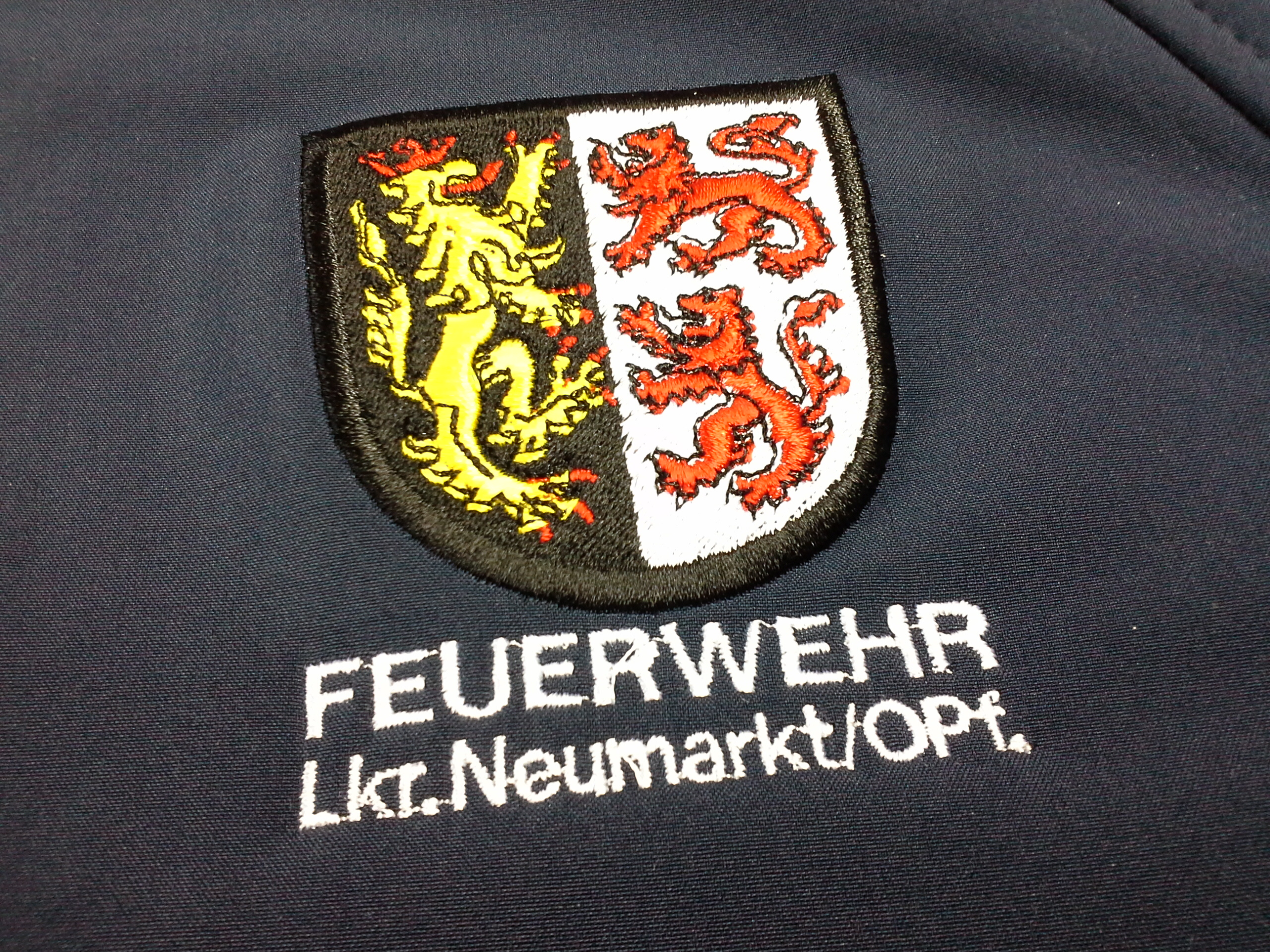 Stickerei auf Poloshirt