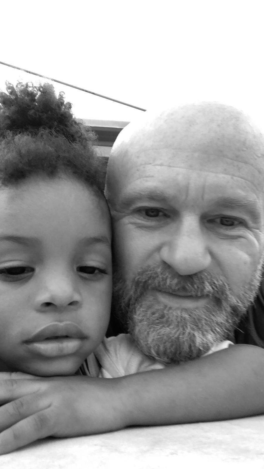 life coach Eddy Smits close to dreamy child